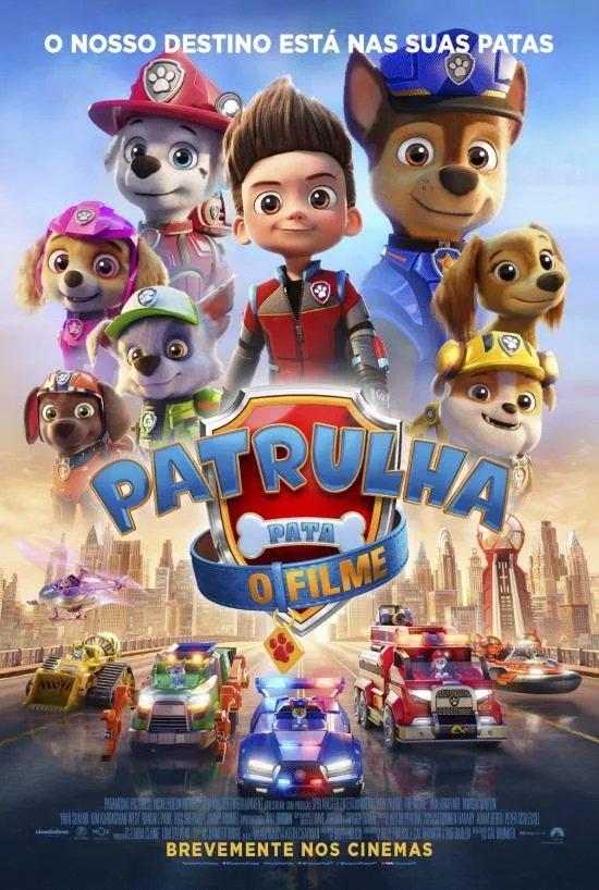 Patrulha Pata: O Filme – 2D (Versão Portuguesa)