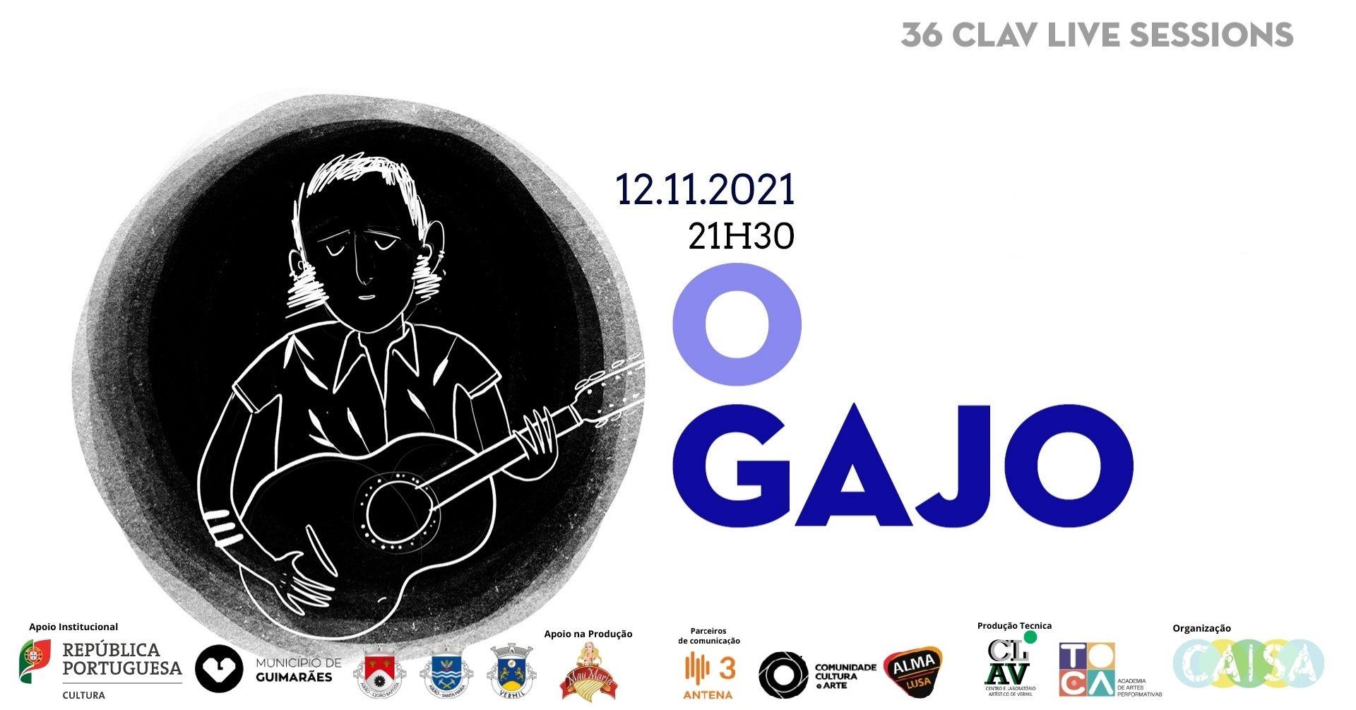 36ª CLAV Live Session // O GAJO convida SATURNIA