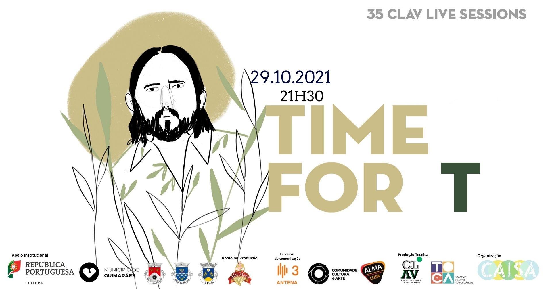 35ª CLAV Live Session // Time For T