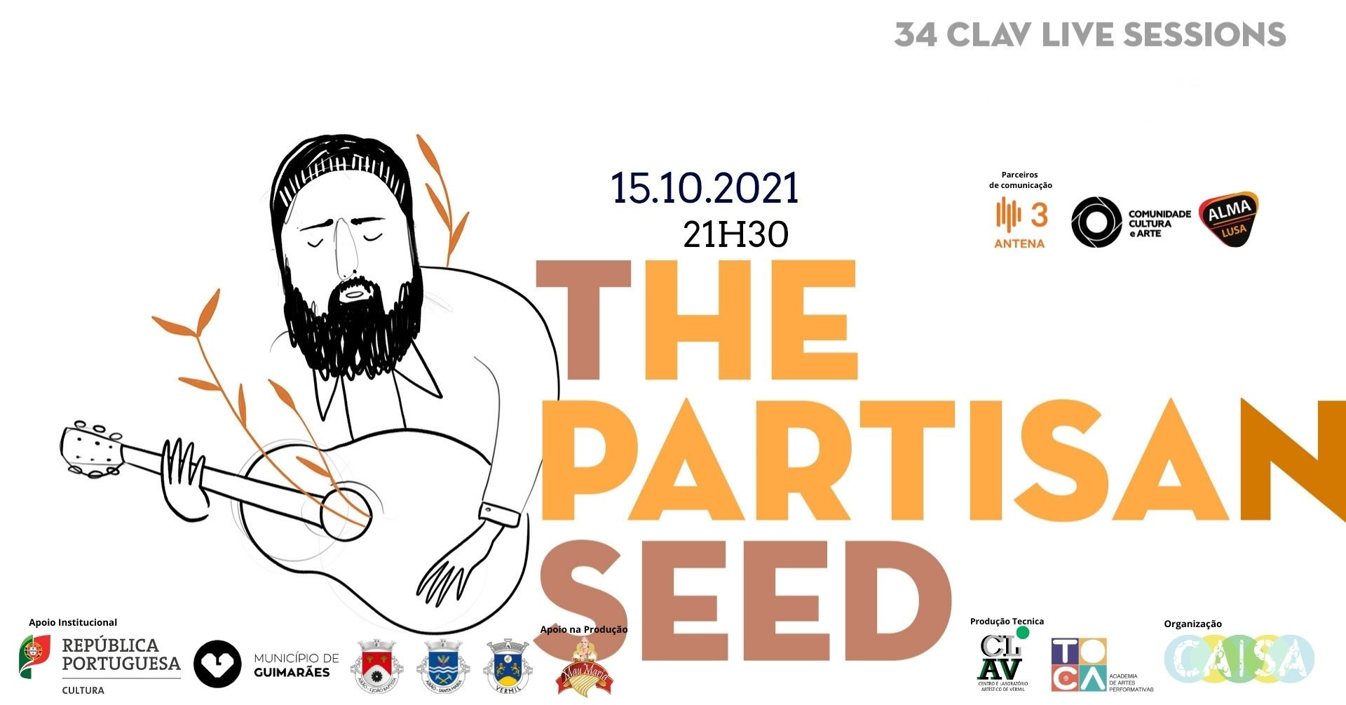 34ª CLAV Live Session // The Partisan Seed
