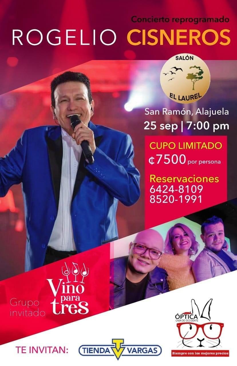 Rogelio Cisneros y Vino Para 3