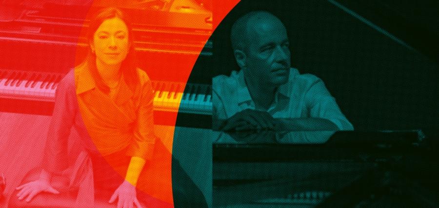 Miguel Borges Coelho e Marta Zabaleta