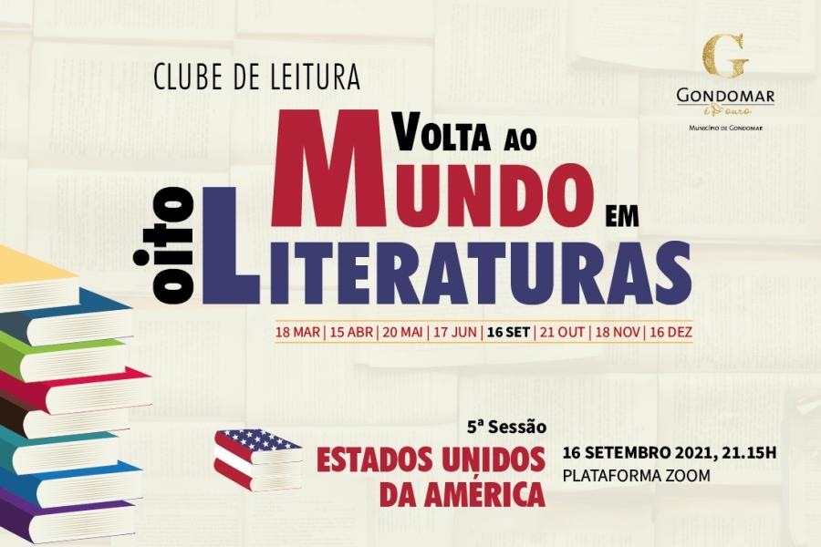 """Clube de Leitura """"Volta ao Mundo em Oito Literaturas"""""""