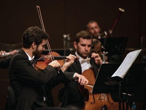 SINFONIAS CLÁSSICAS, pela Orquestra Clássica do Sul