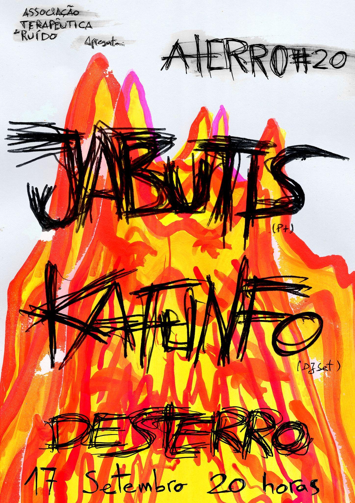 Aterro #20: Jabutis + Kafunfo noSoundsystem
