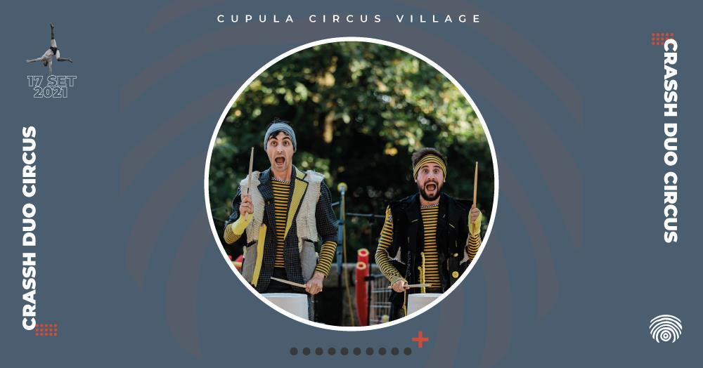 """""""Crassh Duo Circus"""", da WETUMTUM"""