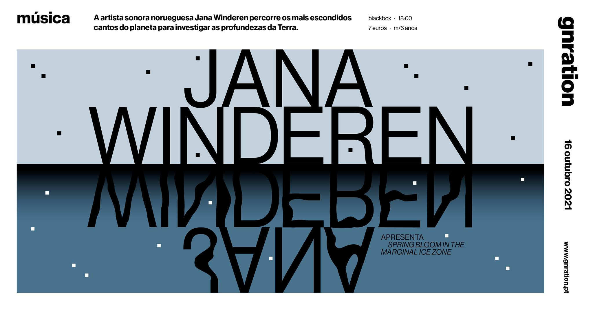 Jana Winderen apresenta Spring Bloom in the Marginal Ice Zone | gnration