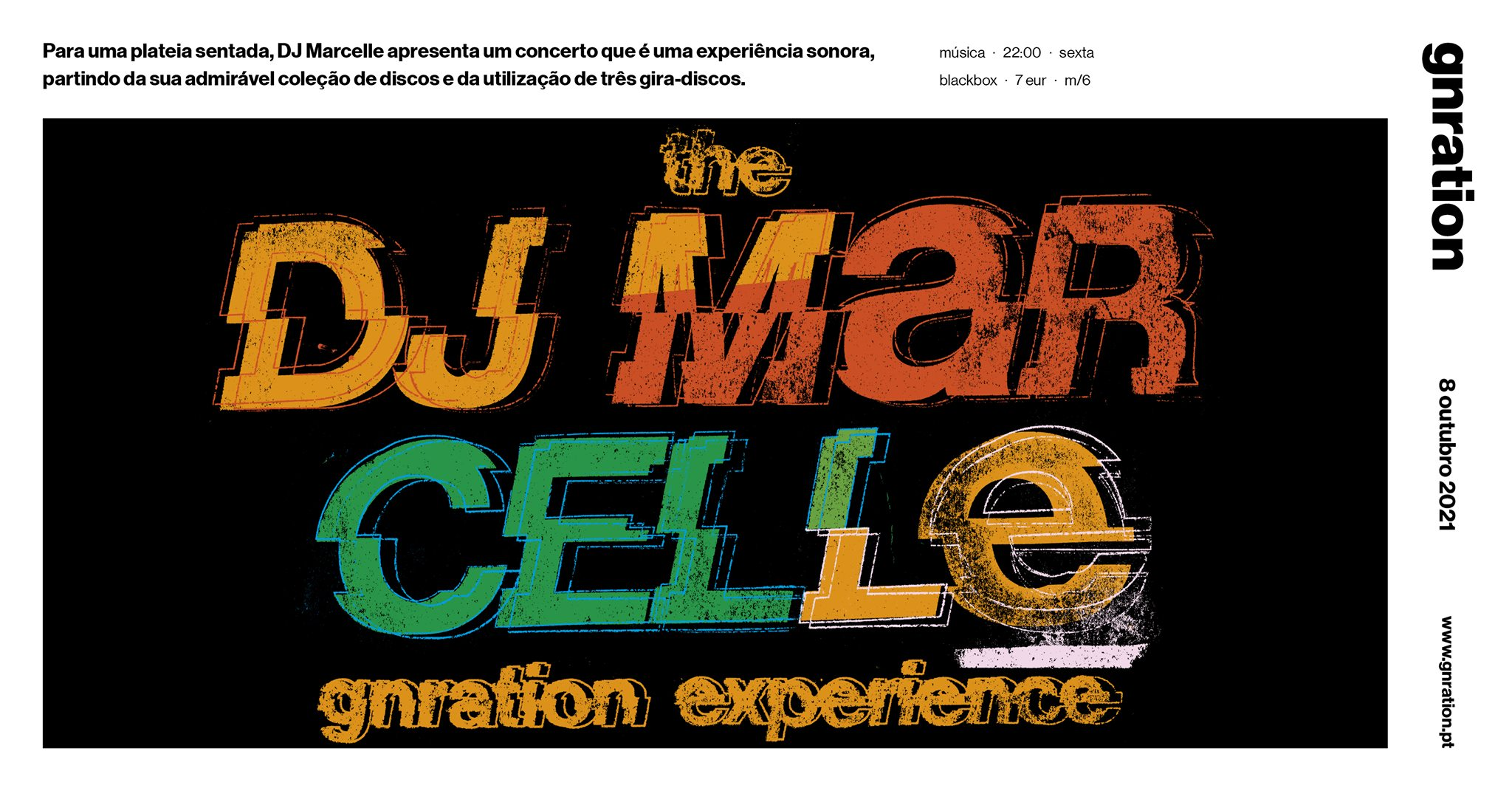 The DJ Marcelle gnration experience   gnration