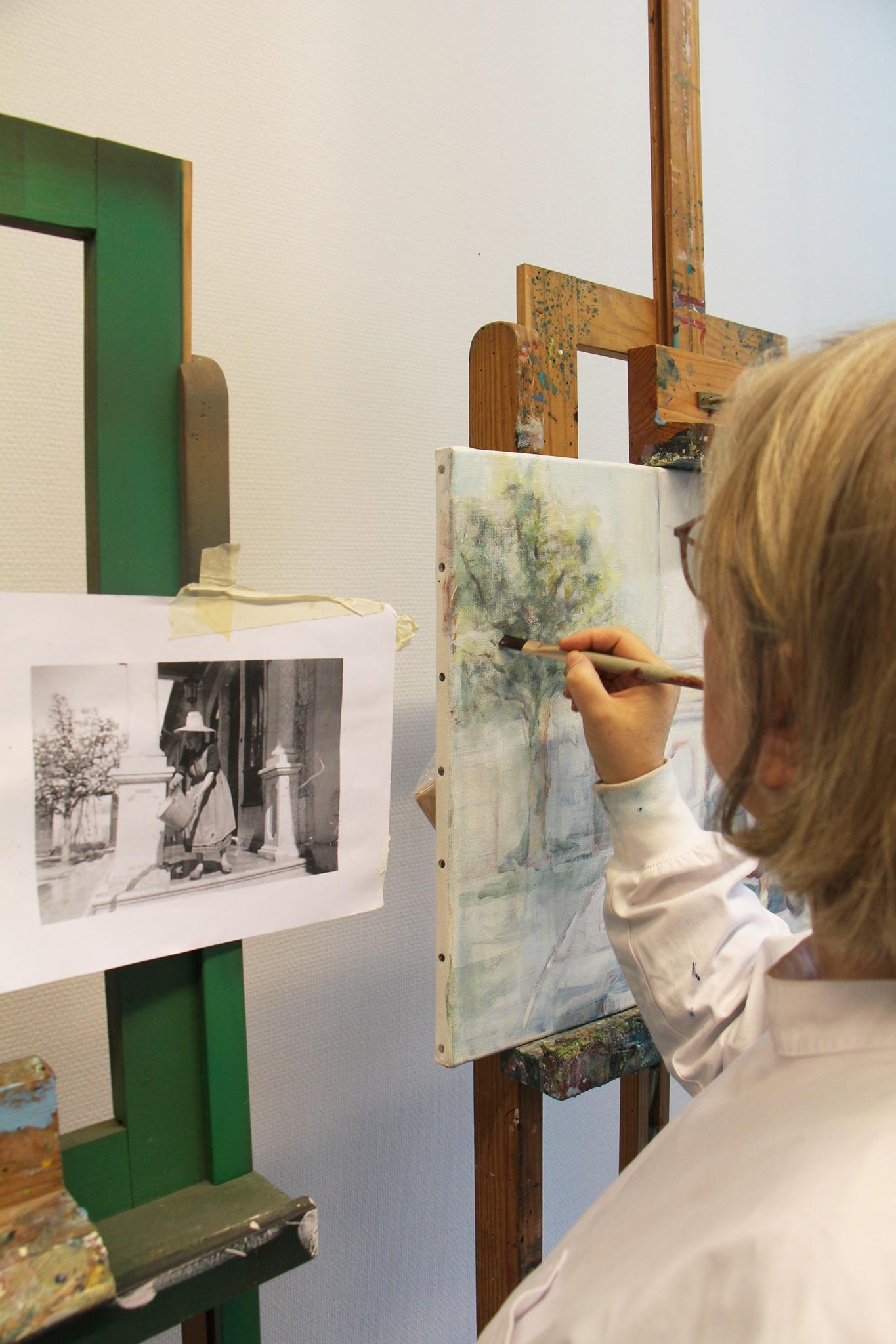 Oficina de Pintura - Oficinas Livres