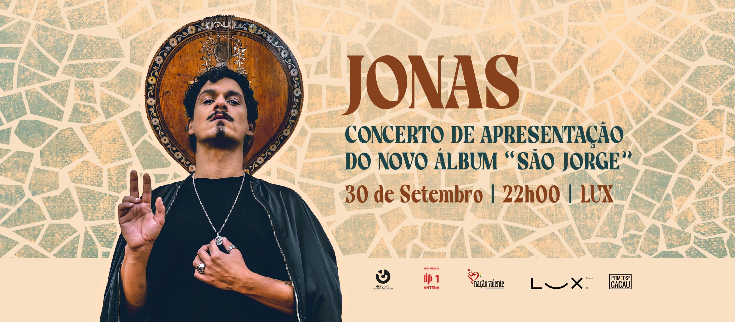 Jonas - Concerto de apresentação do novo álbum 'São Jorge'