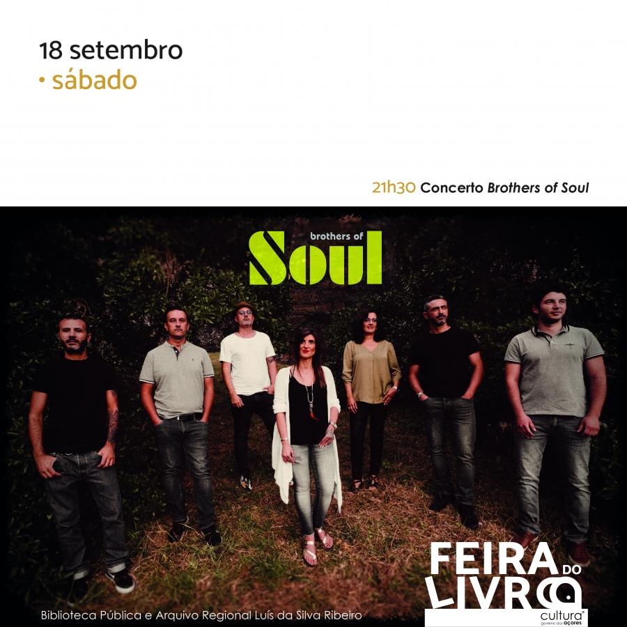 Brothers of Soul   Feira do Livro 2021