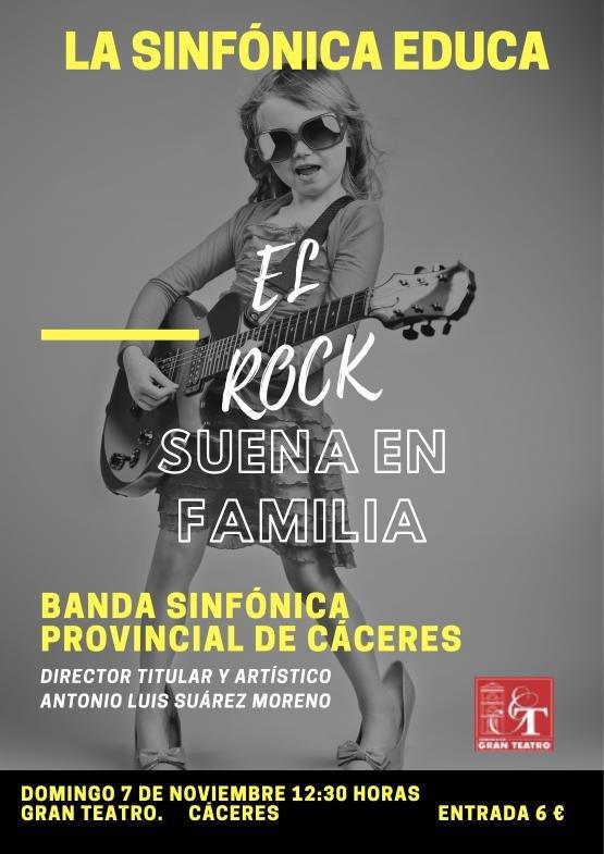 EL ROCK SUENA EN FAMILIA, Banda Sinfónica Provincial