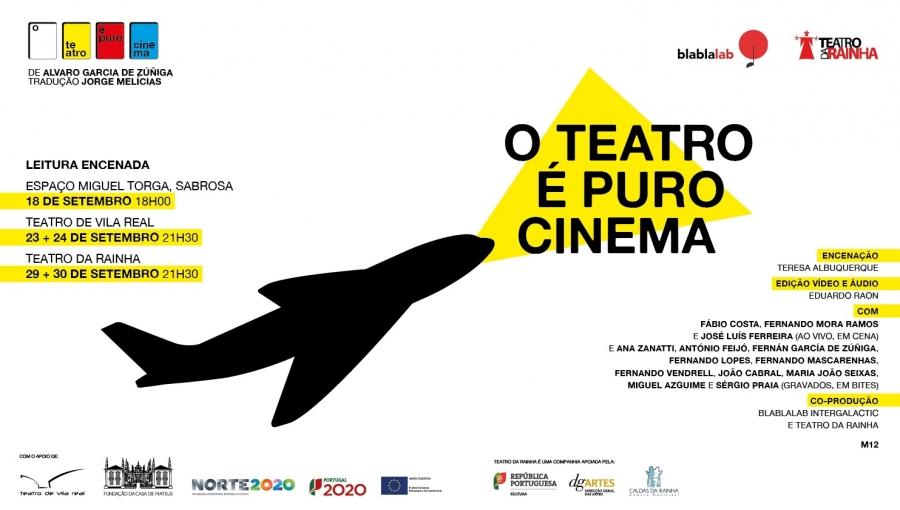 O Teatro é Puro Cinema, de Álvaro García de Zúñiga