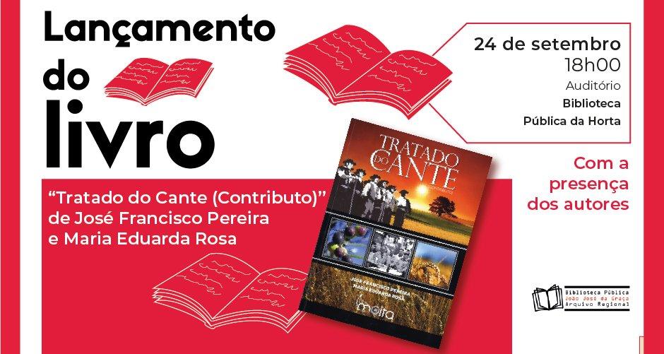 """Lançamento do livro """"Tratado do Cante (Contributo)"""""""