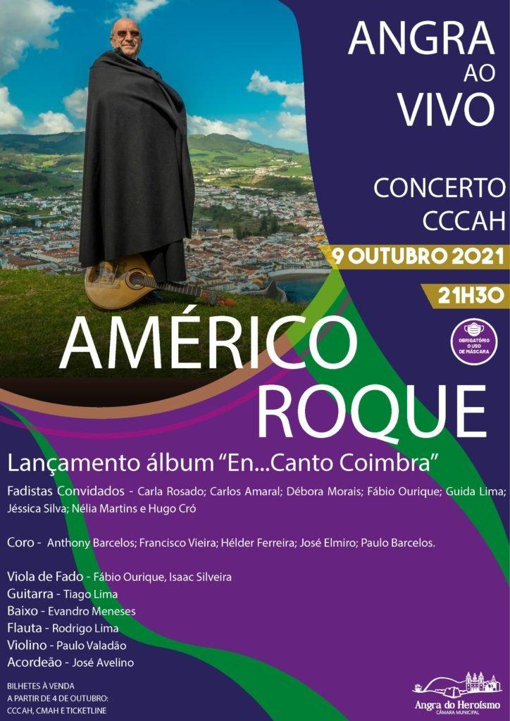Américo Roque – Angra ao Vivo
