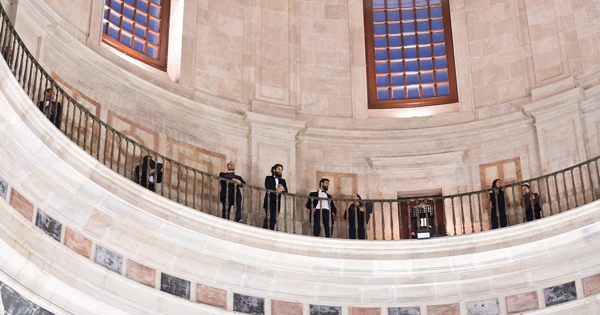 Diálogos Improváveis - Coro Gulbenkian no Panteão Nacional