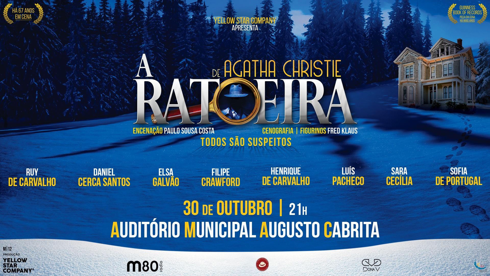 A RATOEIRA de Agatha Christie