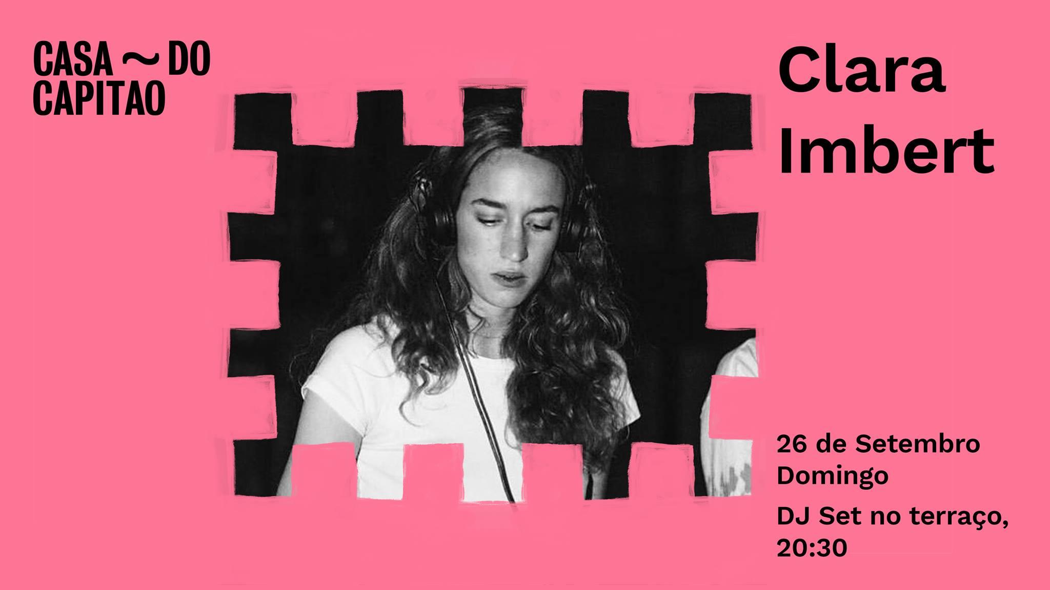 Clara Imbert • DJ Set no terraço