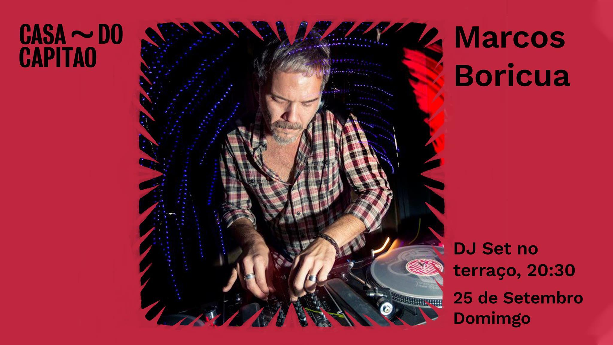 Marcos Boricua • DJ Set no terraço