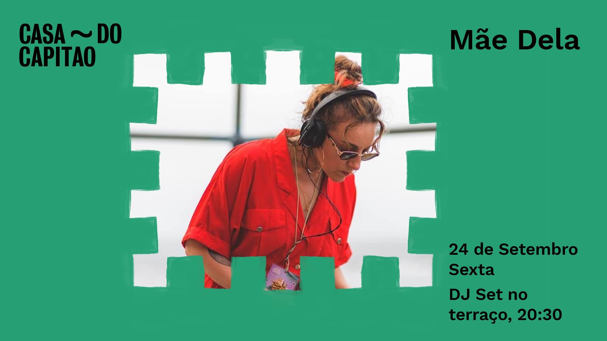 Mãe Dela • DJ Set no terraço