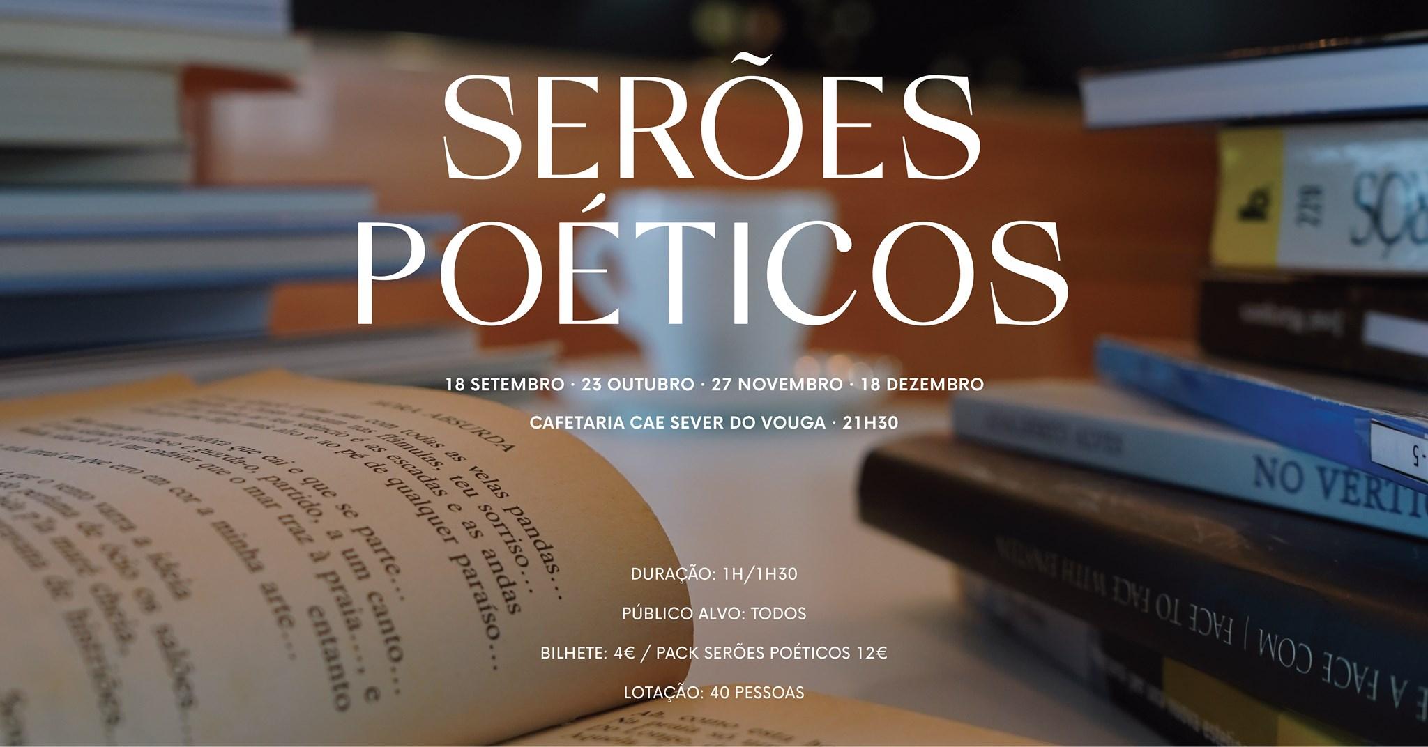 SERÕES POÉTICOS - Laboratório de Leitura Poética