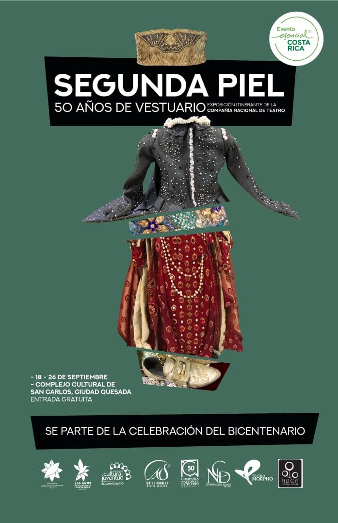 Segunda piel: exposición itinerante de la Compañía Nacional de Teatro en el Complejo Cultura ADCA