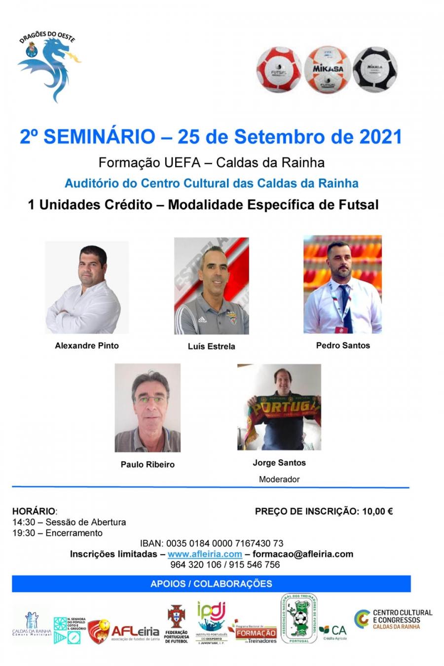 Formação UEFA   Modalidade Específica de Futsal