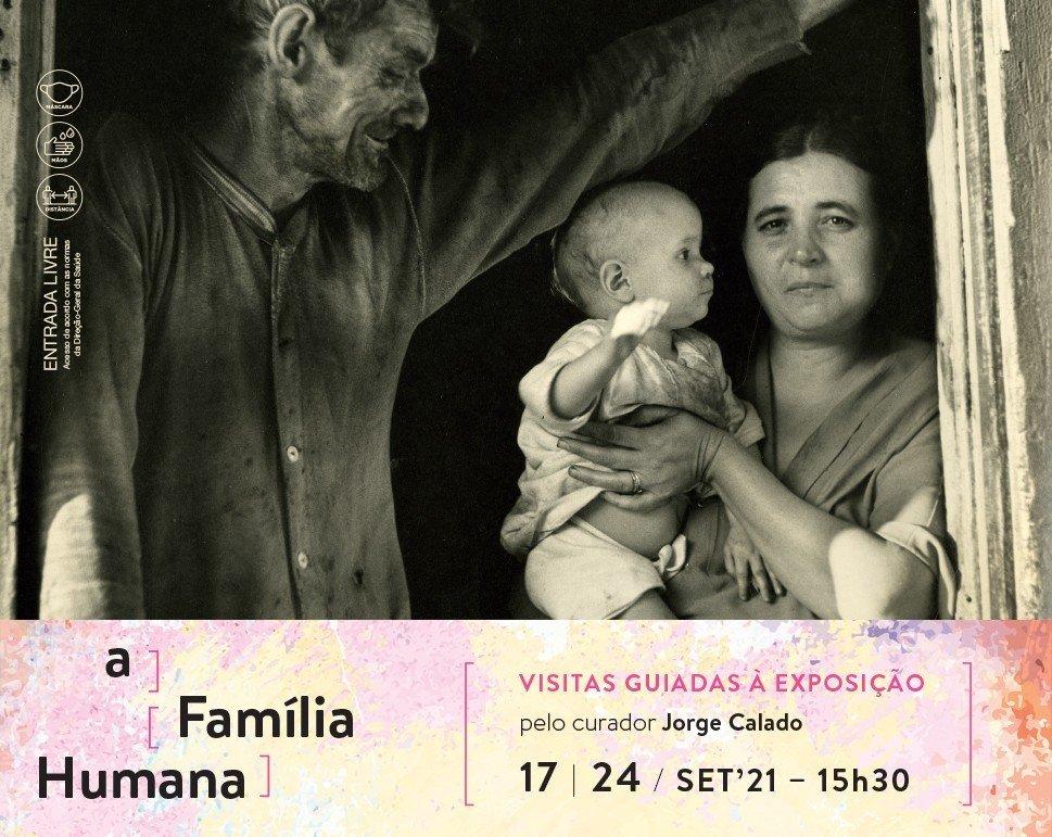 Visita guiada à exposição, pelo curador Jorge Calado