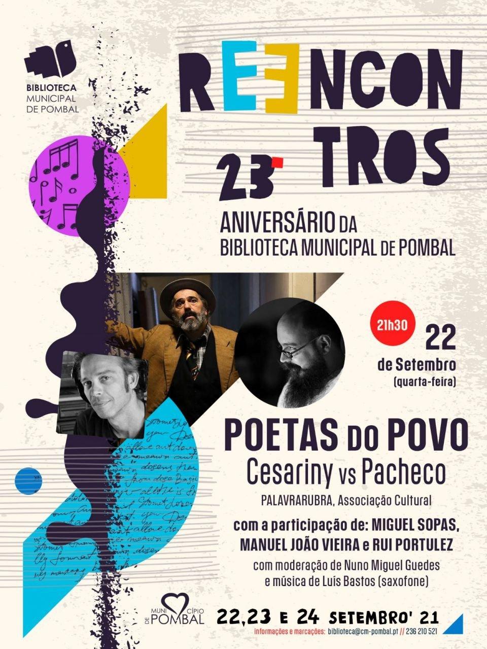 Poetas do Povo: Cesariny vs Pacheco