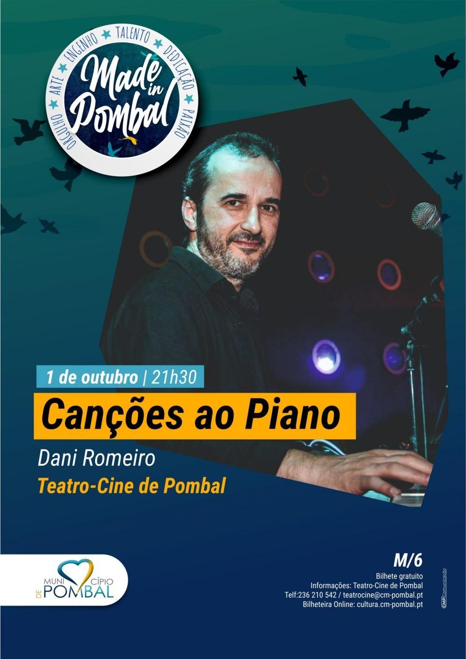 Canções ao Piano – Daniel Romeiro