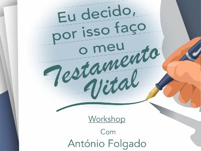 Workshop online | Testamento Vital
