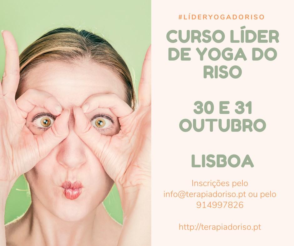 Curso Certificado de Líder de Yoga do Riso | Lisboa