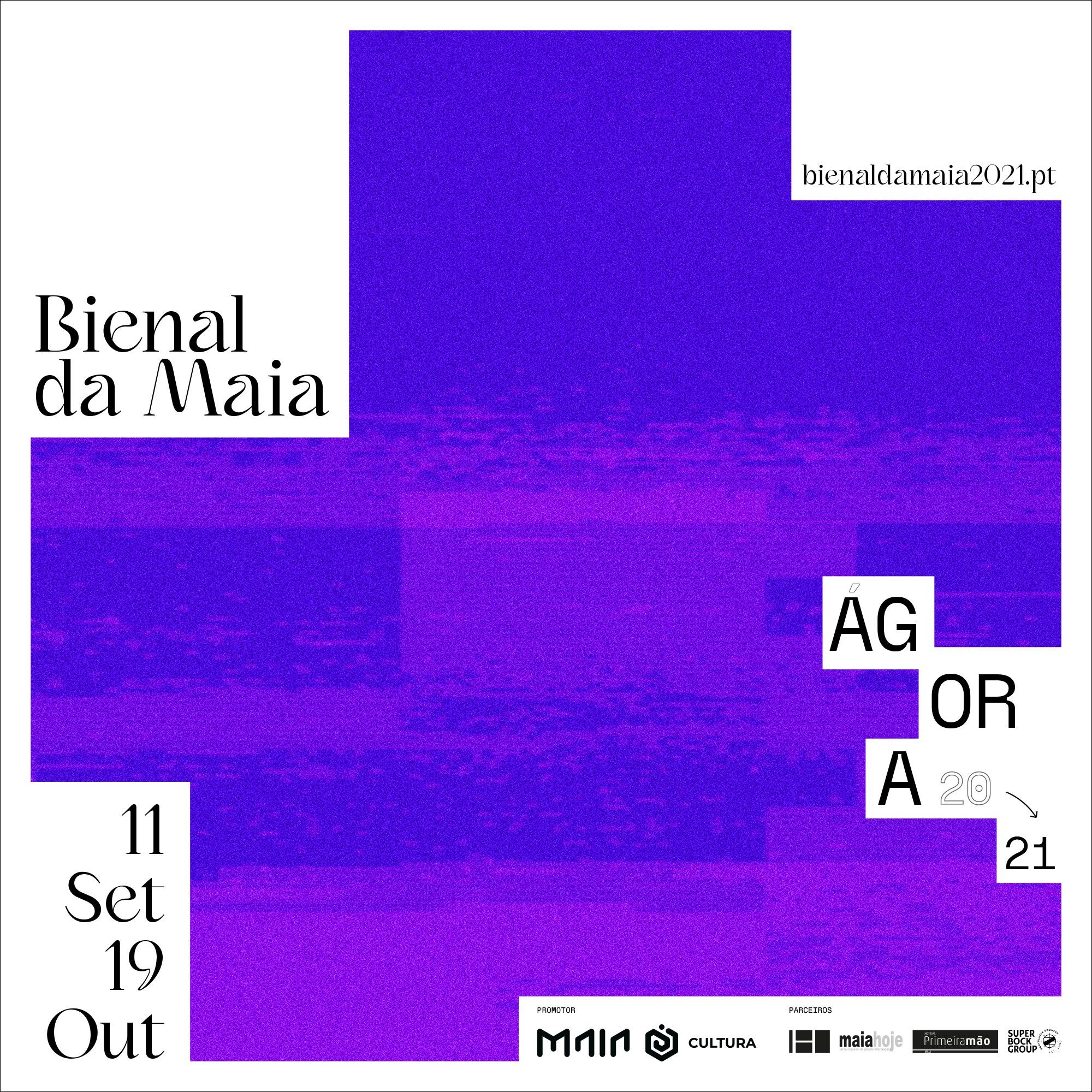 VISITA-OFICINA EXPOSIÇÃO 'ÁGORA' - Bienal de Arte Contemporânea da Maia