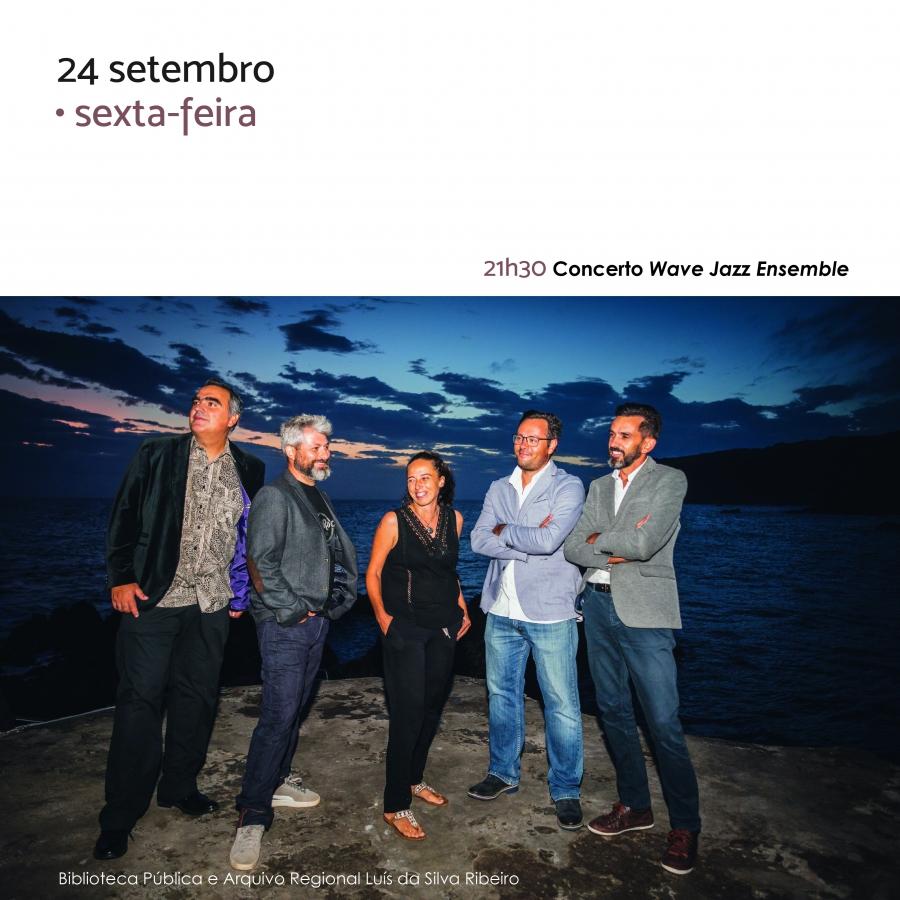 Concerto Wave Jazz Ensemble | Feira do Livro 2021