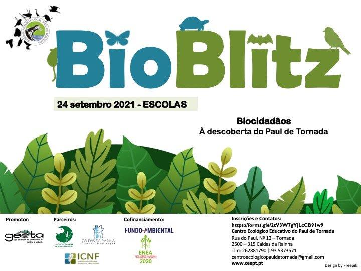 Bioblitz no Paul de Tornada - 24 setembro - ESCOLAS