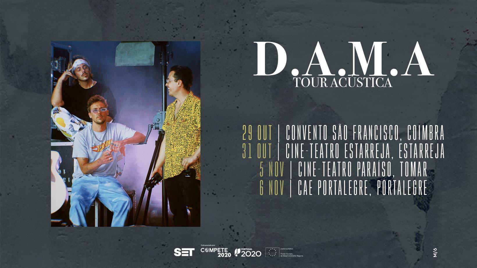 DAMA   Tour Acústica - Coimbra