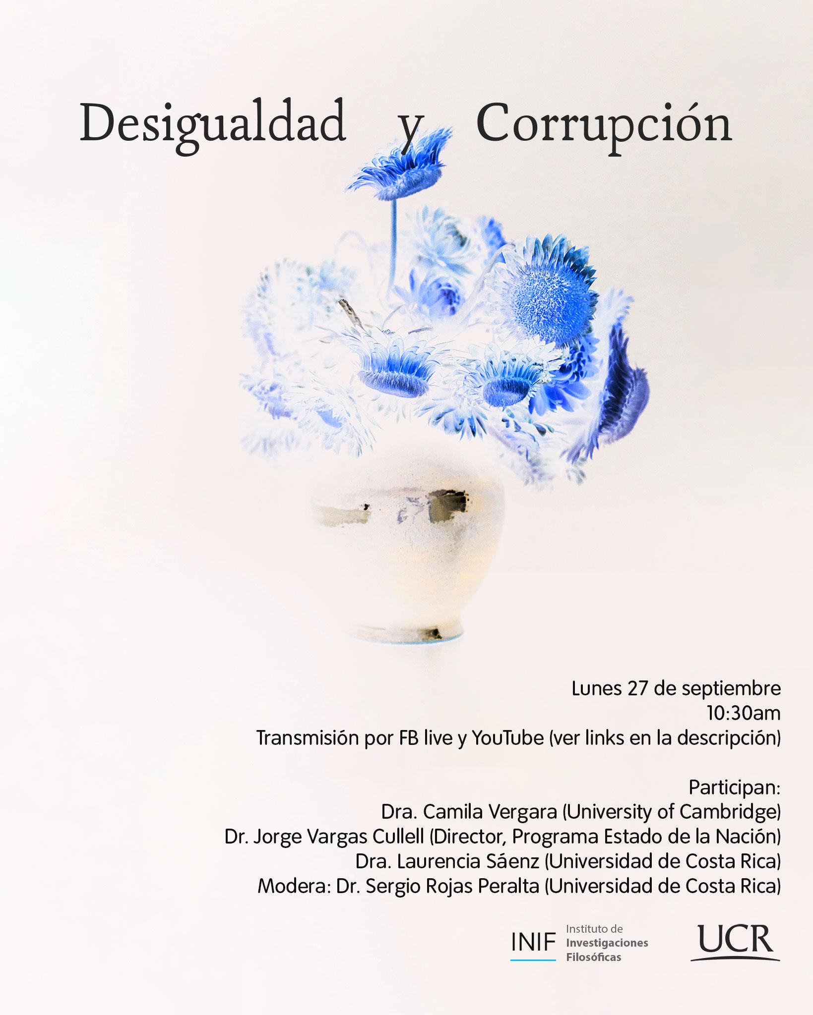 Mesa redonda: Desigualdad y Corrupción