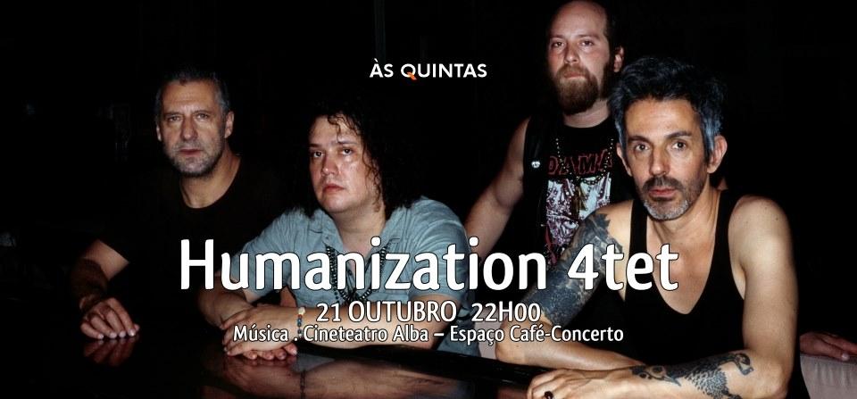 ÀS QUINTAS - Humanization 4tet