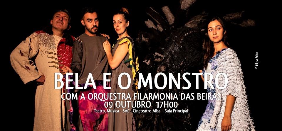 A BELA E O MONSTRO, COM A ORQUESTRA FILARMONIA DAS BEIRAS