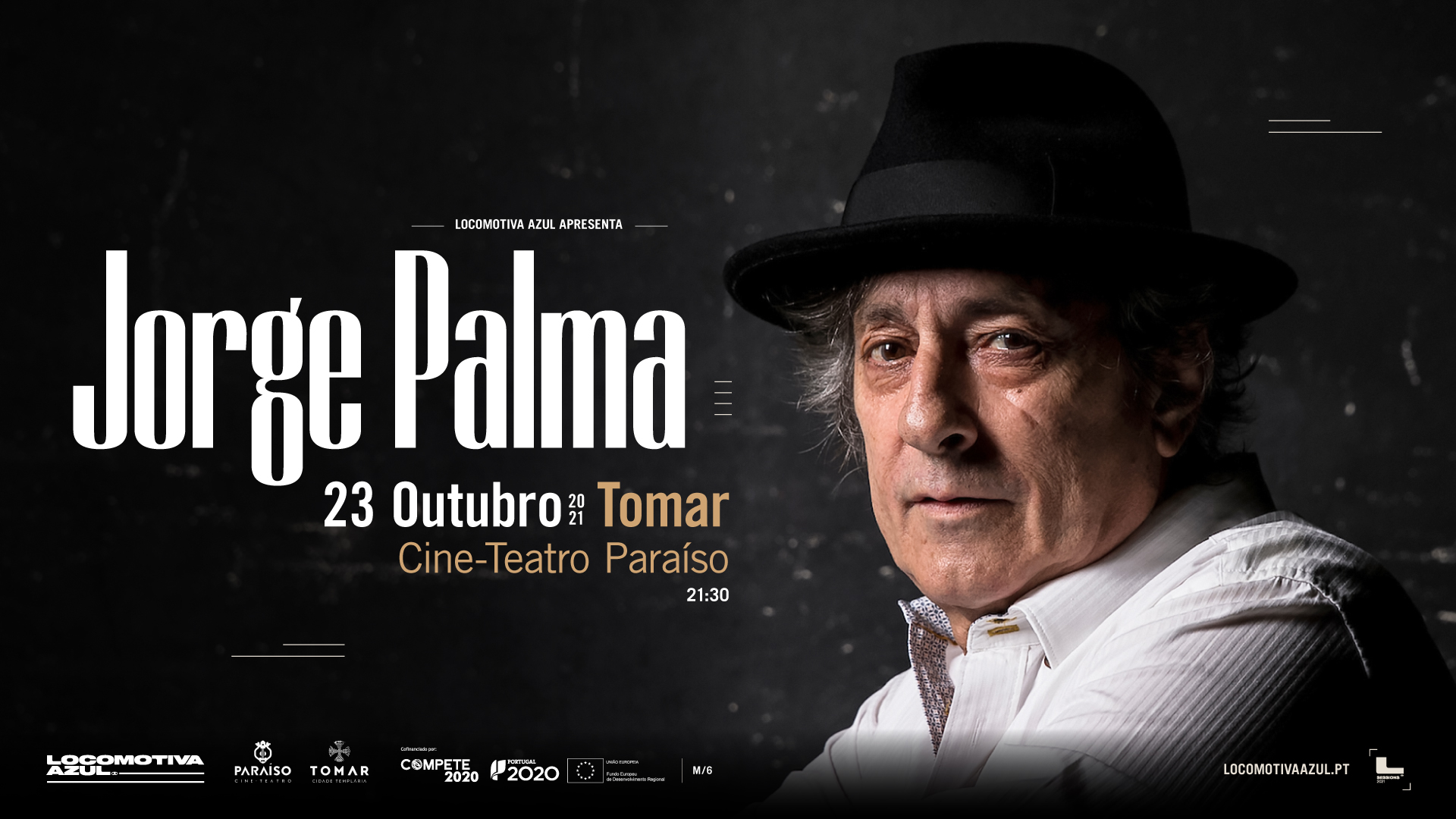 Jorge Palma - Tomar: ESGOTADO
