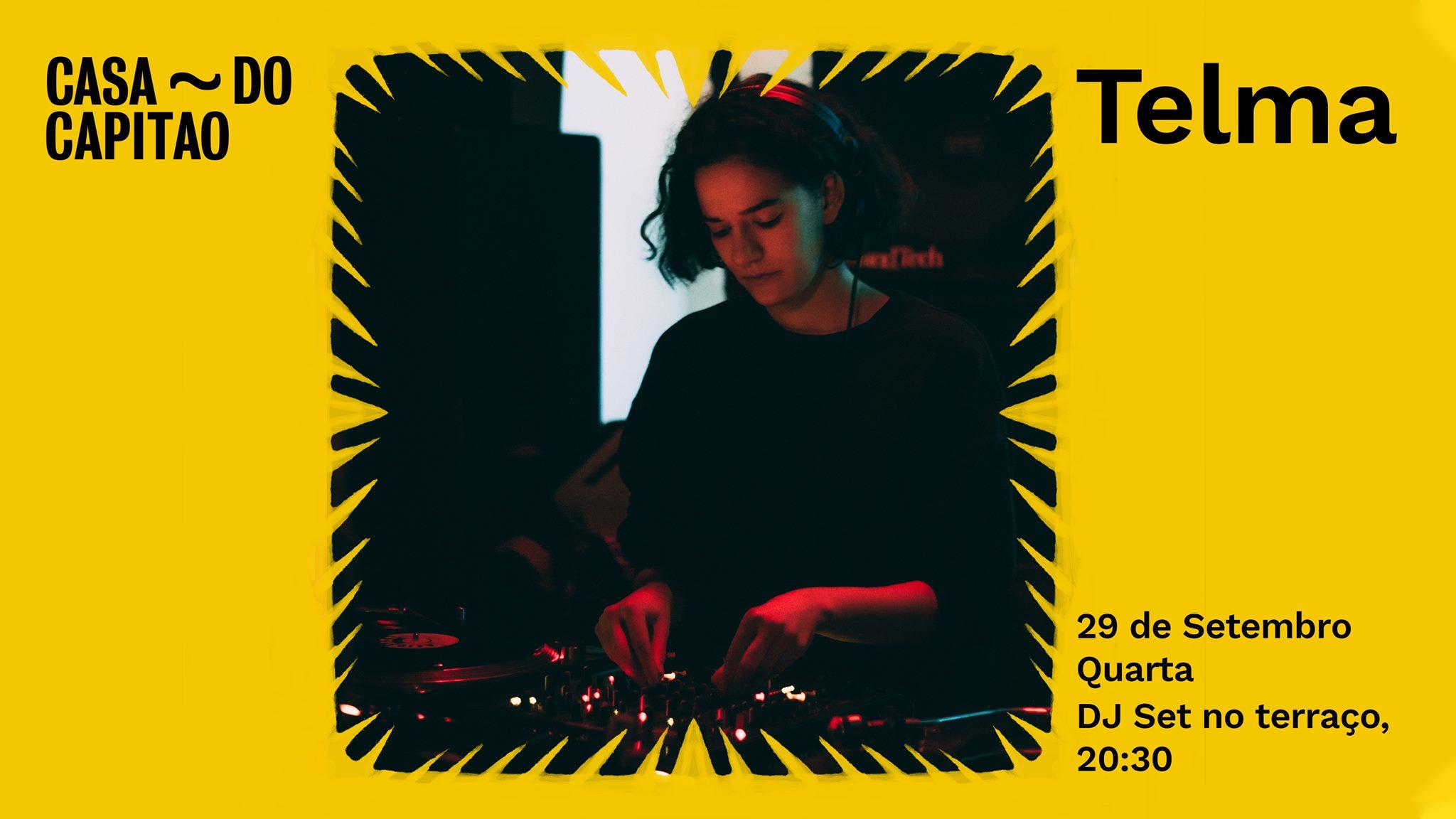 TELMA • DJ Set no terraço