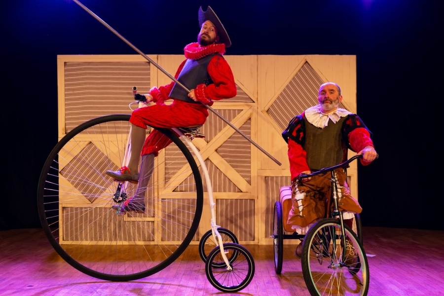 'Quixote' – Pedras de Cartón I Festival Internacional de Teatro Cómico da Maia