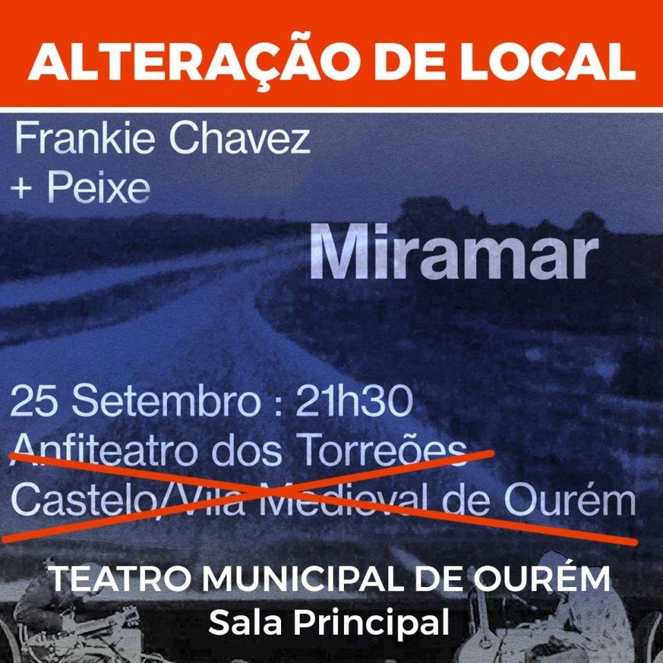 CONCERTO 'MIRAMAR', FRANKIE CHAVEZ E PEIXE