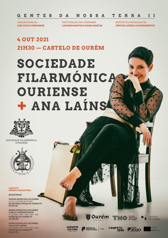 GENTES DA NOSSA TERRA II - SOCIEDADE FILARMÓNICA OURIENSE, COM ANA LAINS