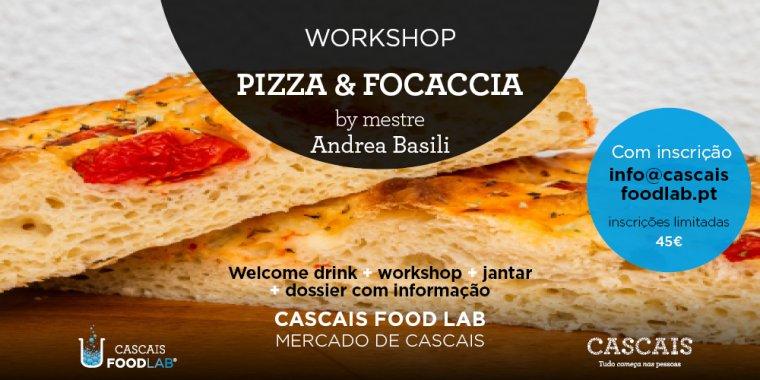 Workshop Pizza & Focaccia, by mestre Andrea Basili
