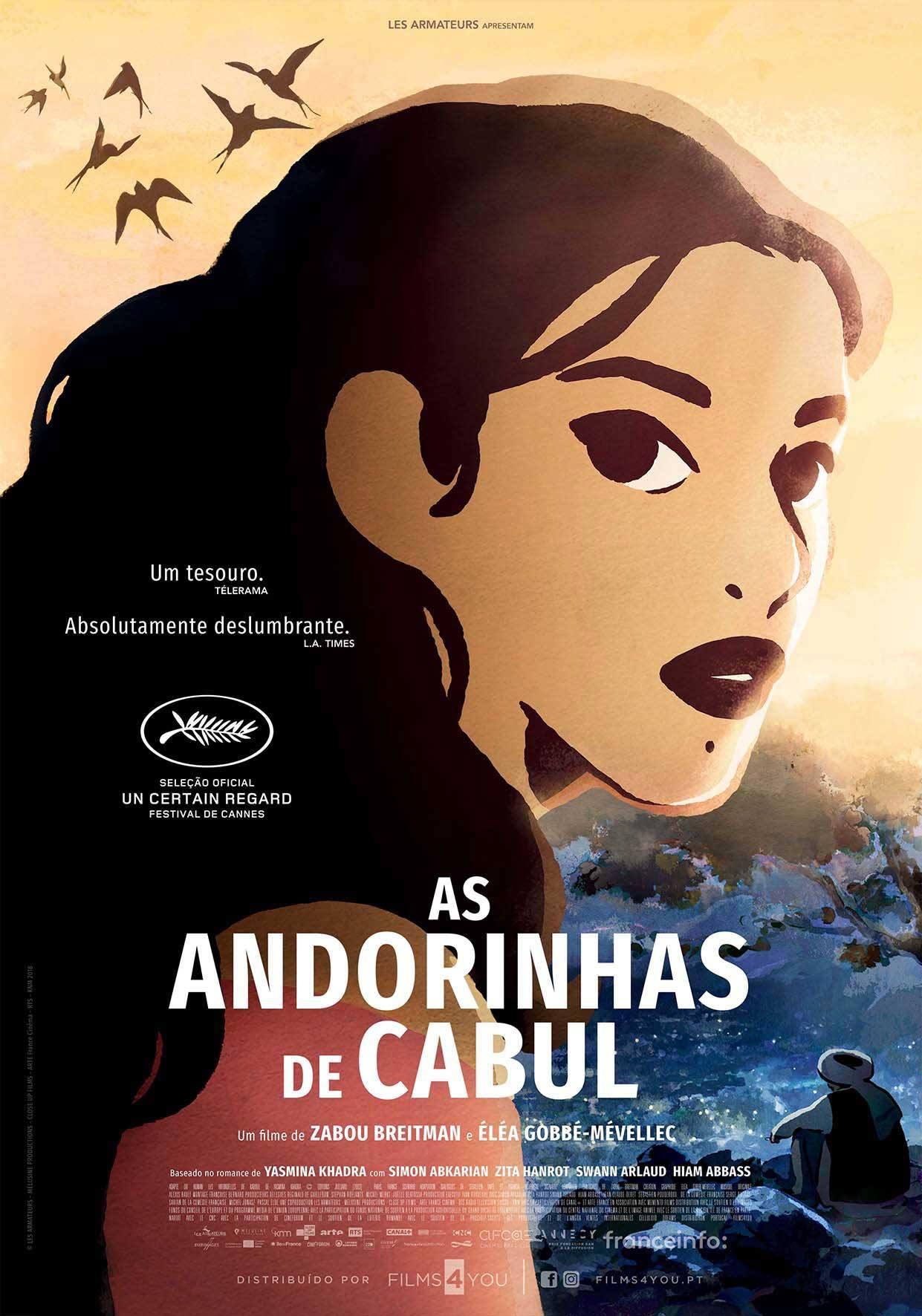 Cinema | AS ANDORINHAS DE CABUL - Sessão integrada no XVI FITAIJ