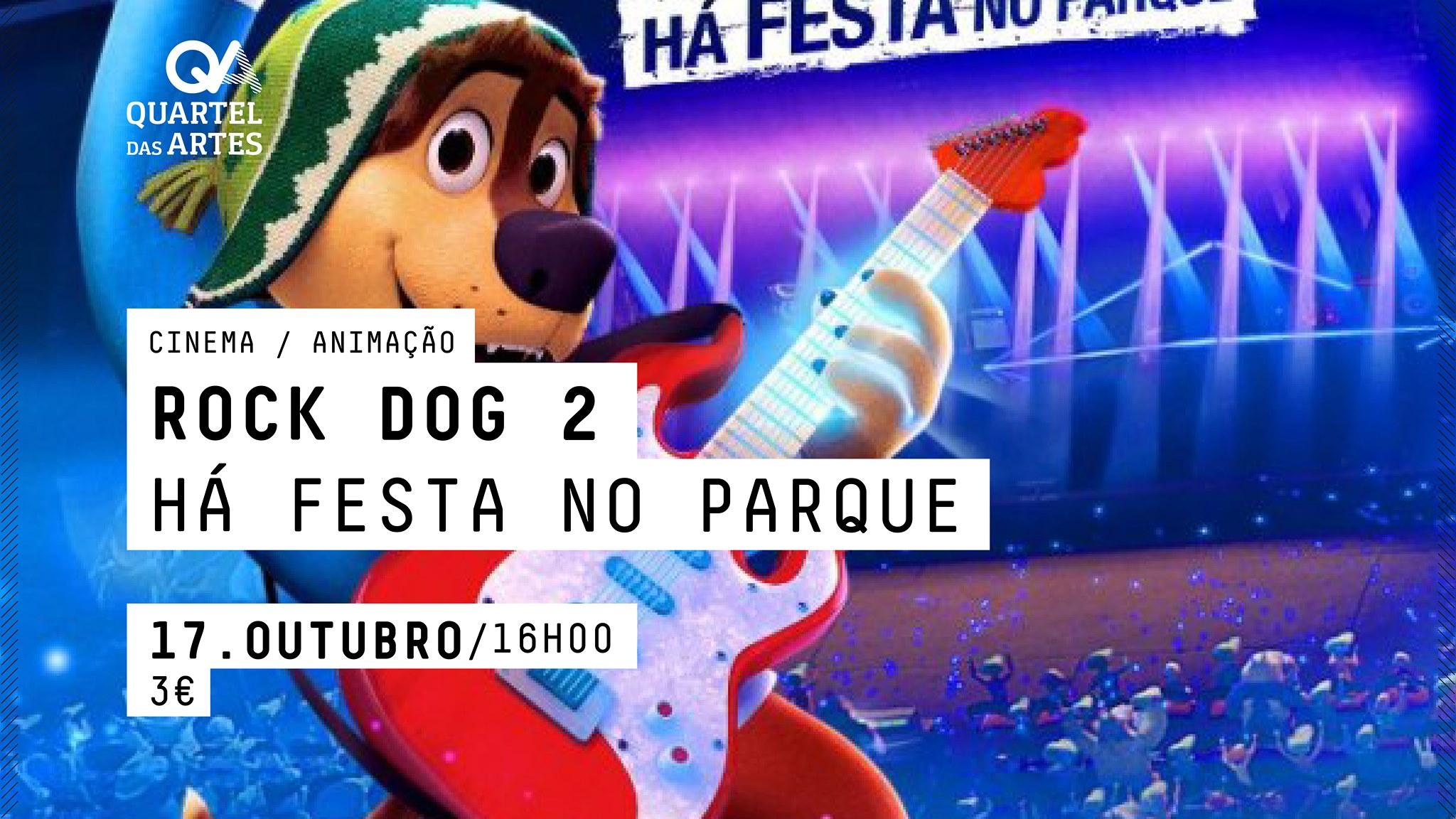 ROCK DOG 2 HÁ FESTA NO PARQUE - CINEMA