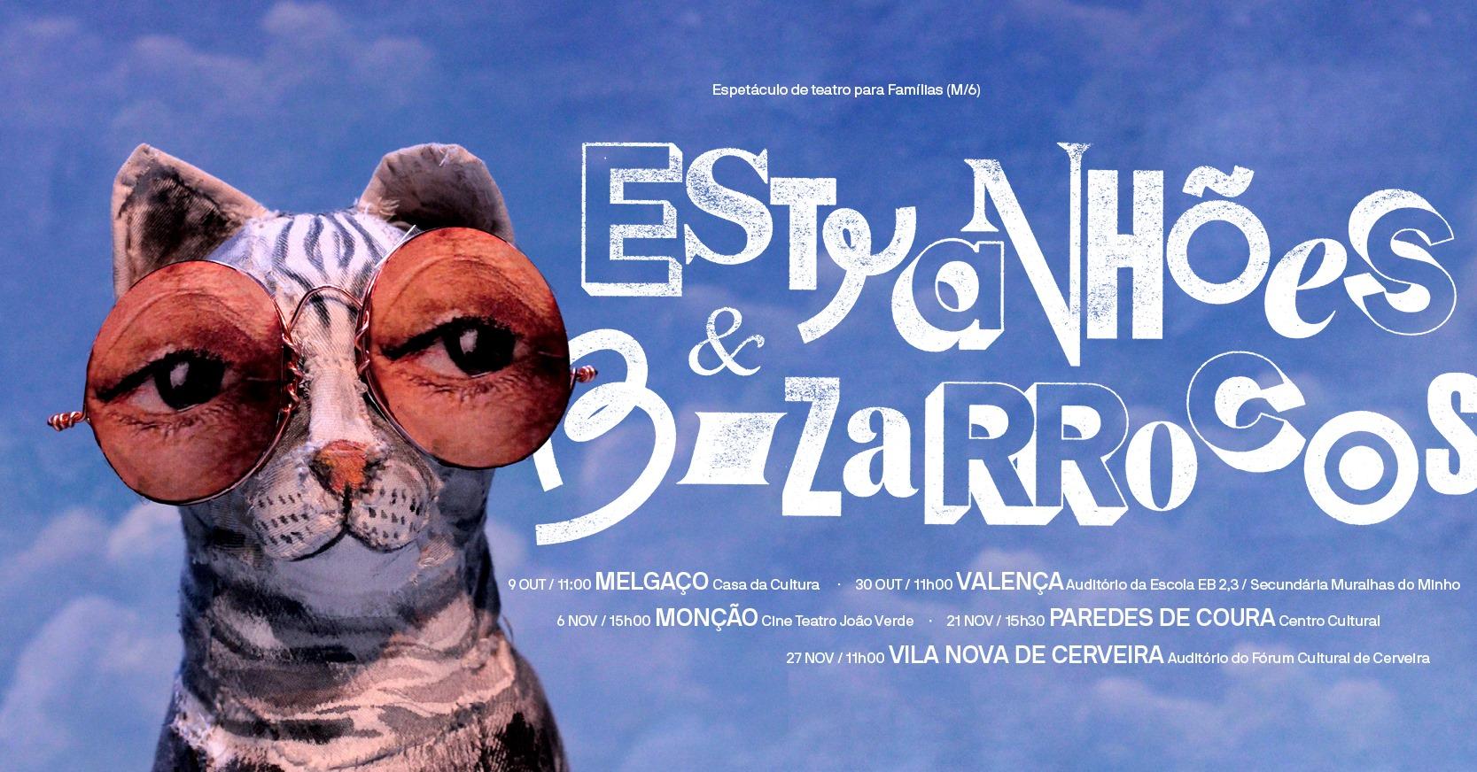 ESTRANHÕES E BIZARROCOS   (teatro para famílias)
