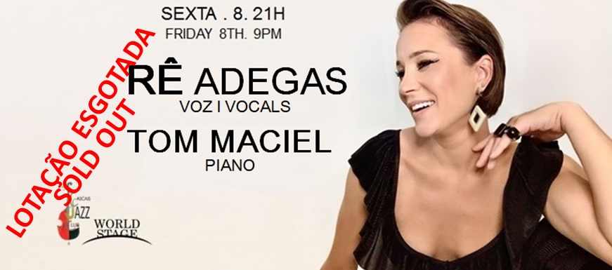 Renata Adegas voz / vocals  + Tom Maciel piano