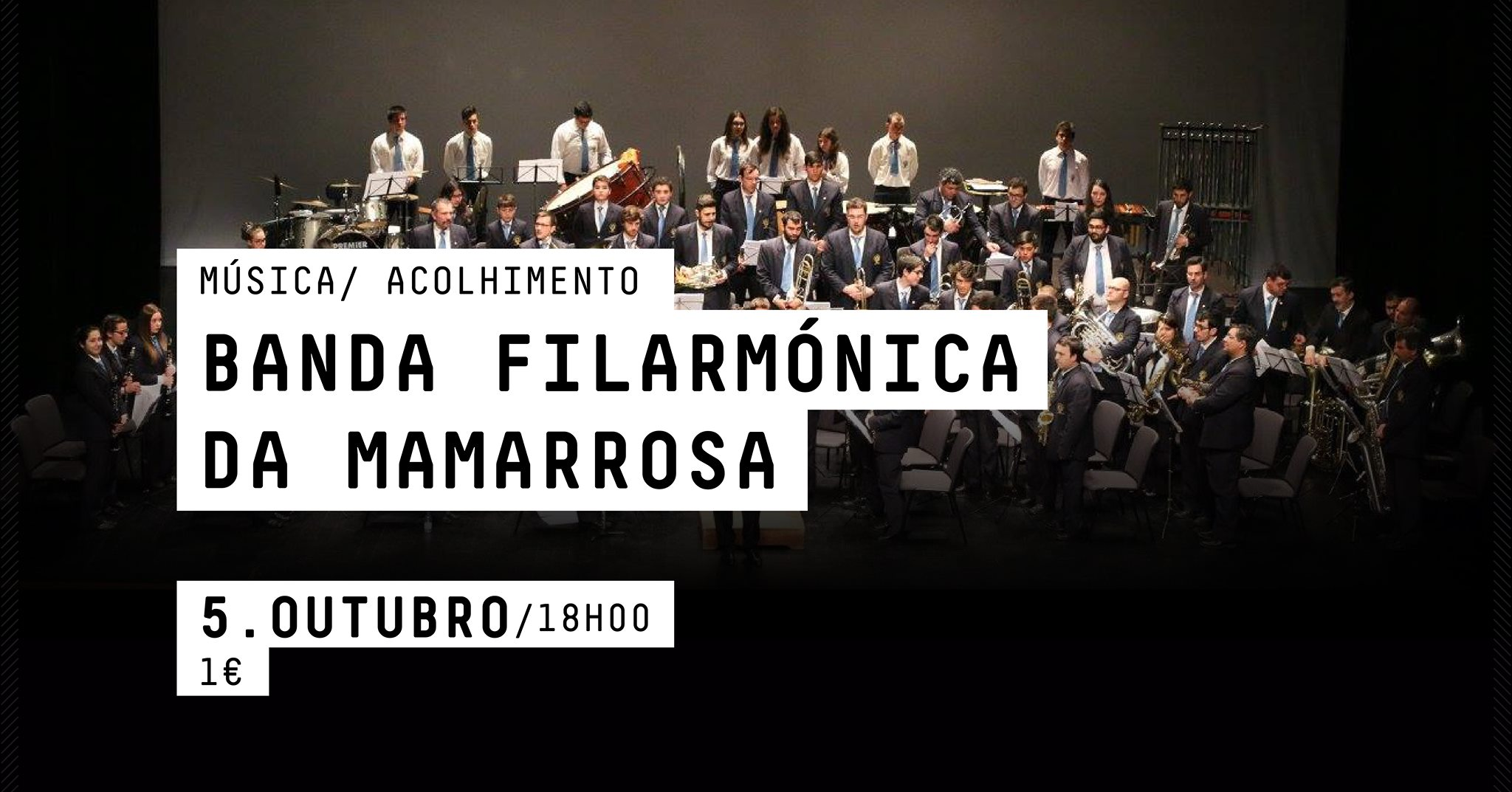 BANDA FILARMÓNICA DA MAMARROSA ACOLHIMENTO / MÚSICA